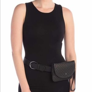 Vince Camuto Quilted Belt Bag - NWT